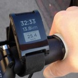 Pebble cycling photo E - Paper wrist watch New technology gadget for men