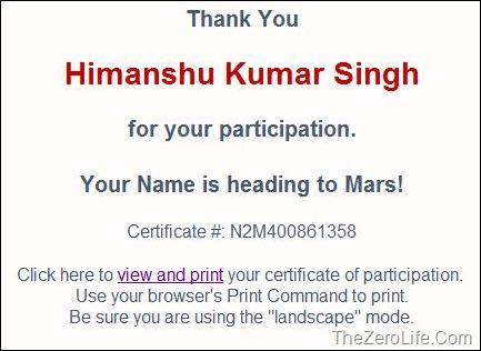 Himanshu-Kumar-Singh-Name-To-Mars-Rover-NASA
