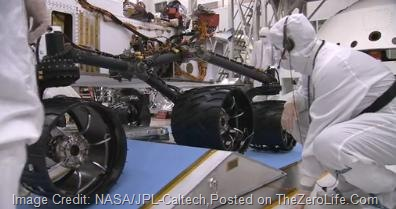 Mars_Rover_Curiosity_Techanicians_Working_On_Wheels(TheZeroLife.Com)