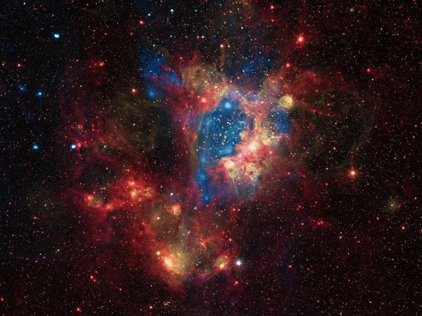Superbubble in the Large Magellanic Cloud (LMC) NASA Image_ (TheZeroLife.Com)